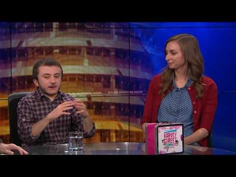"Lauren Lapkus & Atticus Shaffer on New Animated Netflix  Dreamworks ""Harvey Street Kids"""