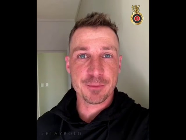 Dale Steyn is here. Back in the #VIVOIPL and #RCB #playbold