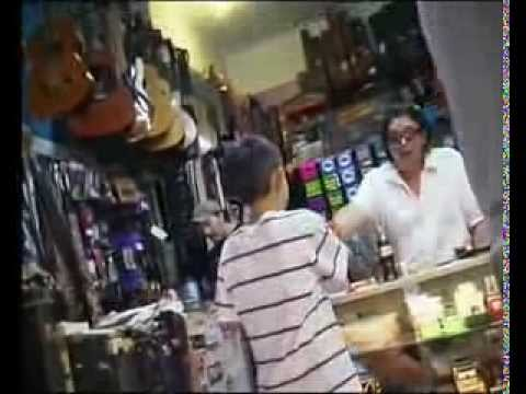 Wow!! Kid Blows Away Owner of Guitar Shop