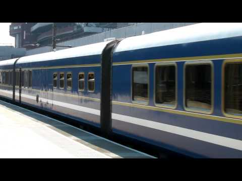 The Blue Train - Durban - Moses Mabida Station - South Bound (Thursday 22nd July 2010)