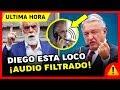 El Jefe Diego ¿Ofrece RECOMPENSA a quien DESAPAREZCA a AMLO? en ENTREVISTA ¡¡AUDIO FILTRADO!!