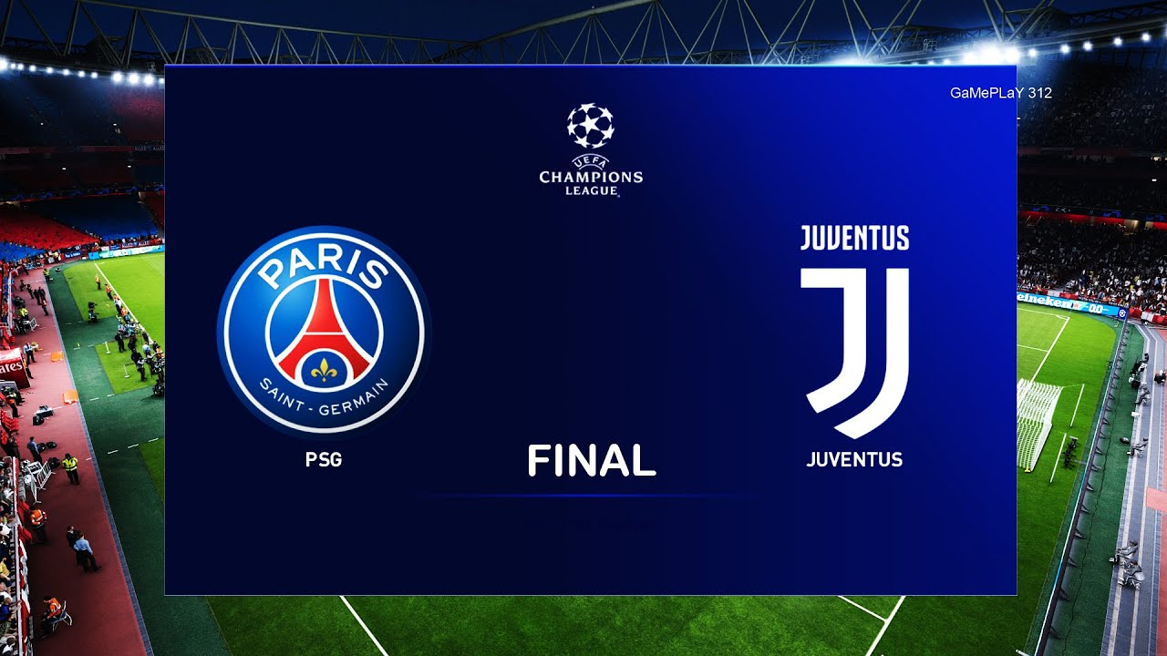 pes 2020 psg vs juventus uefa champions league final ucl 20 21 season gameplay youtube pes 2020 psg vs juventus uefa champions league final ucl 20 21 season gameplay