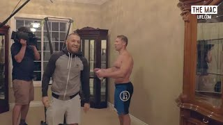 Conor McGregor back training 2 days after UFC 202 #TheMacLife