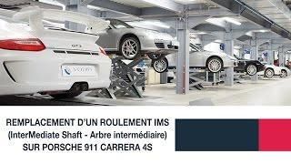 Remplacement d'un roulement IMS (InterMediate Shaft – arbre intermédiaire) Porsche