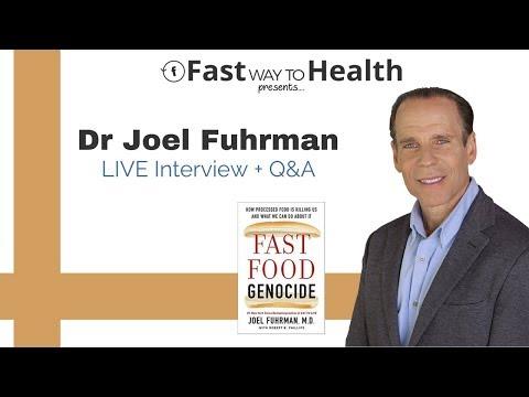 Dr Joel Fuhrman Interview: Fast Food Genocide