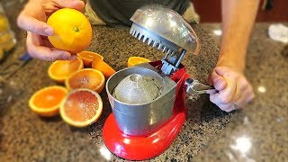 50 Years Old Juicer Gadgets put to the Test!