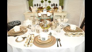 Fall Entertaining and Tablescape Tips &  Ideas