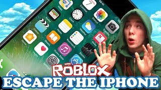 NÓS CORREMOS LONGE DE APLICAÇÕES!   Escapar do iPhone 7   ROBLOX #65