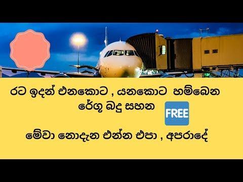 පිටරට වැඩකරොත්  මේවා නොදැන එන්න එපා , අපරාදේ-how to get duty free allowance from custom