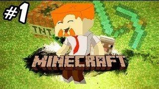 Minecraft и Юзя Часть 1 ПРИВЕТ, МИР