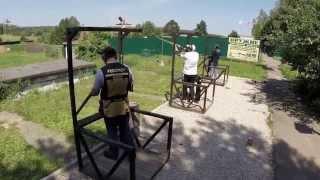 Стендовая стрельба, Спортинг - Компакт
