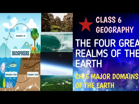 THE FOUR GREAT REALMS OF THE EARTH||ENRICH GEOGRAPHY