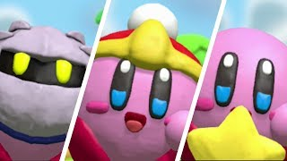 Kirby and the Rainbow Curse - All amiibo Power-Ups