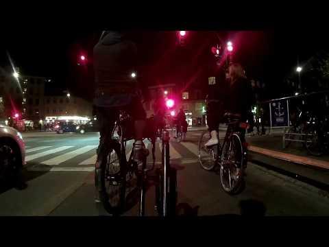 Copenhagen Cycling: Nørrebro by Night