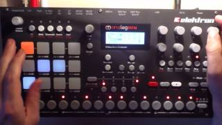 Messing around on Elektron Analog Rytm