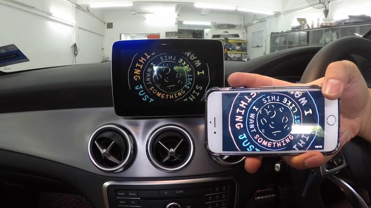 Mercedes Benz GLA 250 - Wireless Mirrolink (iOS)