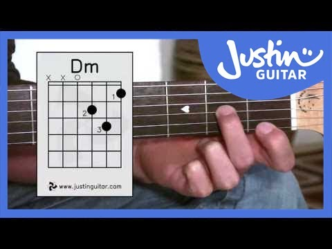 D Minor Chord (Dm) - Stage 2 Guitar Lesson - Guitar For Beginners [BC-123]