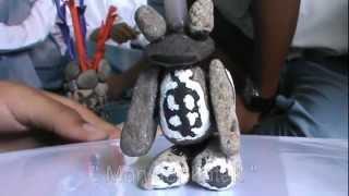 KBM Seni rupa, Patung dari Batu kerikil (1)