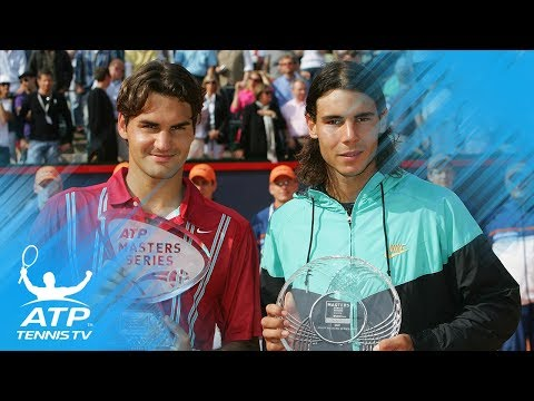 Federer vs Nadal incredible rally and match point | Hamburg 2007 Final
