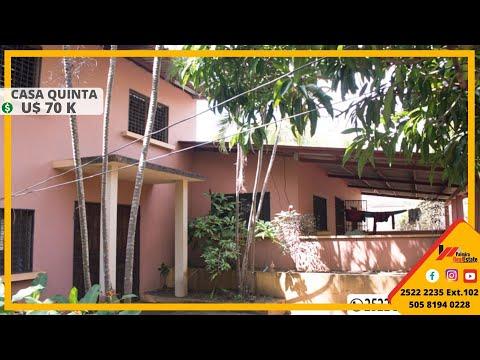 Venta De Casa Quinta - Finca - Terreno En Nindiri, Masaya (Cod:VC-30)