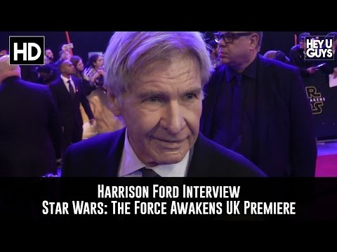 Harrison Ford Premiere Interview: Star Wars - The Force Awakens