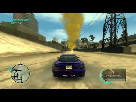 [Xbox 360] Midnight Club: Los Angeles - Cruise: Downtown Tournament Hard - RX7