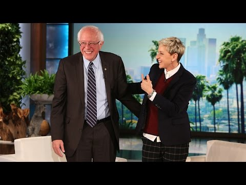 Bernie on The Ellen Show