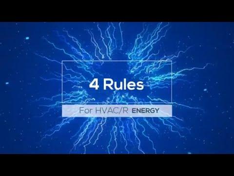 4 Basic Energy Rules for HVAC