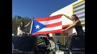 Maria Sharapova and Monica Puig's visit to Puerto Rico to help with relief efforts