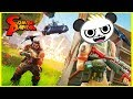 Fortnite with Combo Panda for the first time! Here we go, Combo Crew It's Fortnite!