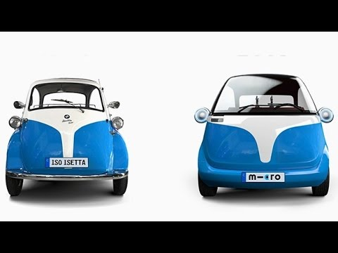 Microlino Electric Vehicle Concept Inspired By Classic Bmw Isetta