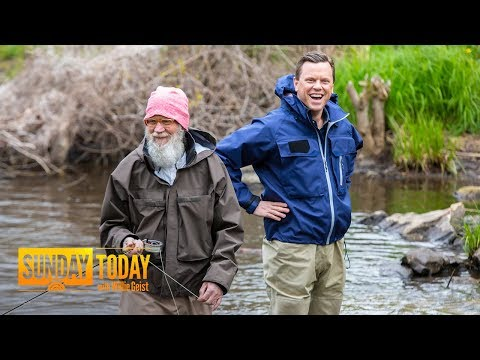 David Letterman's Life After 'Late Show': Fishing, Family And Costco | Sunday TODAY