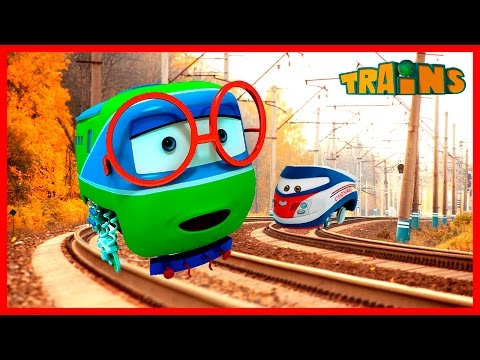 Cartoon Train: Animated Series Collection: Trains cartoons for children