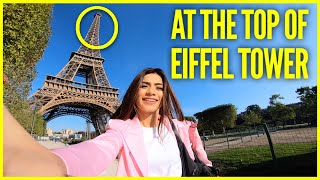 EIFFEL TOWER TOUR || Paris Vlog - Part 2 || Nagma Mirajkar