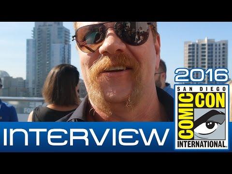 The Walking Dead: Michael Cudlitz (Abraham Ford) talks Season 7 | Comic-Con 2016