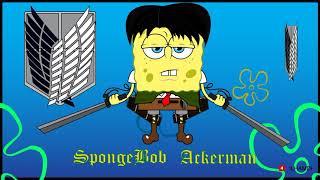 #Spongebob #cosplay #attackontitan Spongebob Squarepants Cosplay Attack on Titan