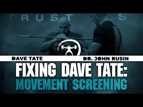 Fixing Dave Tate: Movement Screening | elitefts.com