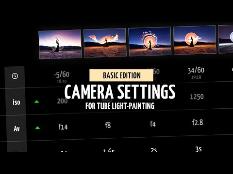 Eric Pare on Settings for Light-Painting