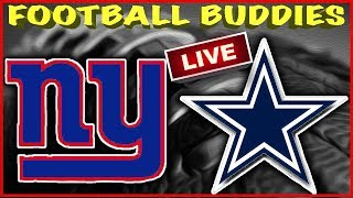 🔴 NFL FOOTBALL NEW YORK GIANTS @ DALLAS COWBOYS LIVE REACTION STREAM!