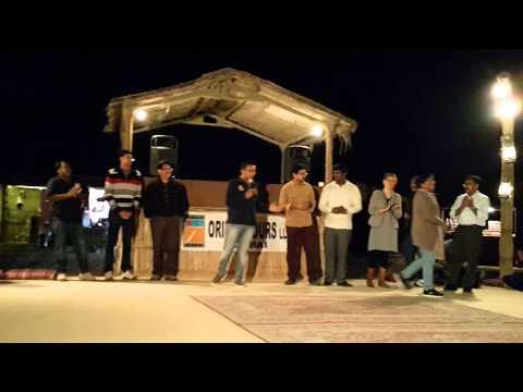 Orient Tours Dubai Desert Camp 19.12.2015