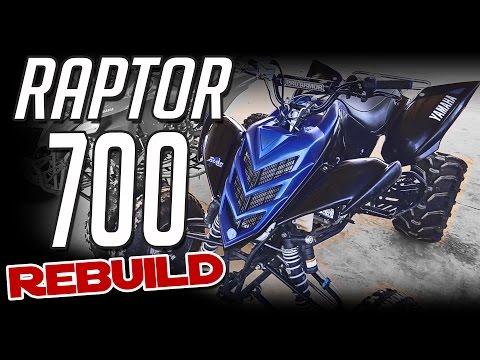 Yamaha Raptor 700 Rebuild