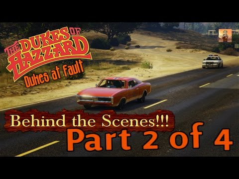 The Dukes of Hazzard Tribute Behind the Scenes Ep. #3: Dukes at Fault BTS Part 2!!! (GTA 5 Gameplay)