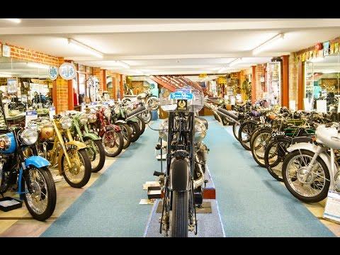 CB500 Motorcycle Trip - Sammy Miller Motorcycle Museum