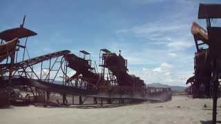 Demolition of Black Sand Mining in Ilocos Sur, Caparacadan,Caoayan, Aug. 5, 2013