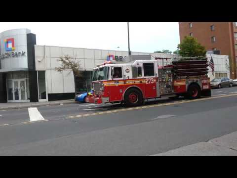 FDNY engine 273 responding then gets cancel