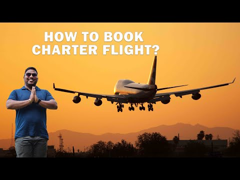 How to Book Charter Flights