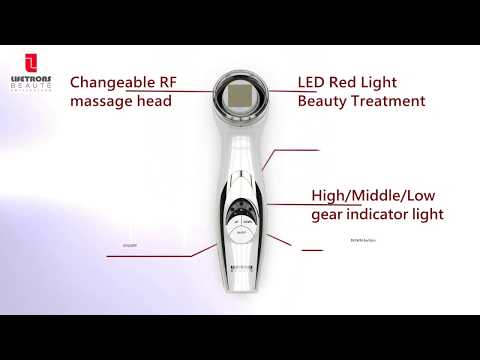 Lifetrons Thermage Facial Lift With Radio-Frequency And Light Therapy (RF-700)