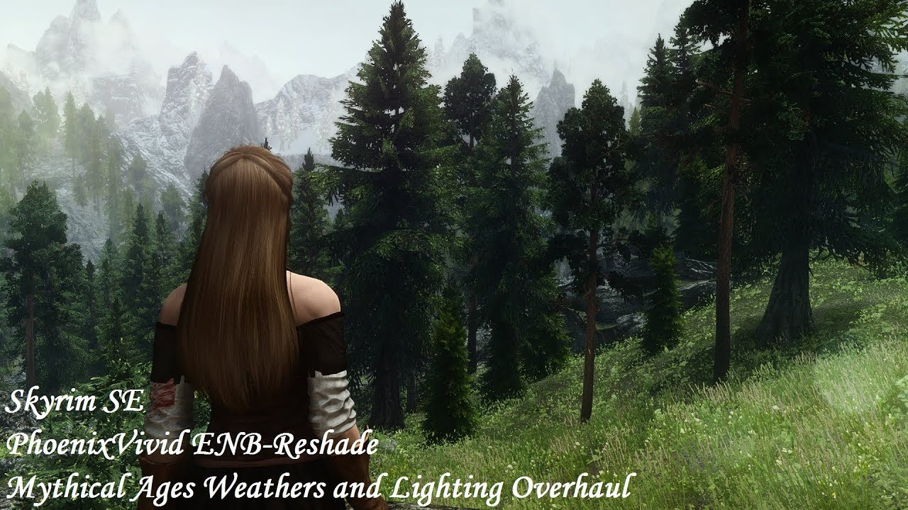 Skyrim SE - PhoenixVivid ENB (Mythical Ages Weathers and Lighting Overhaul  Version)
