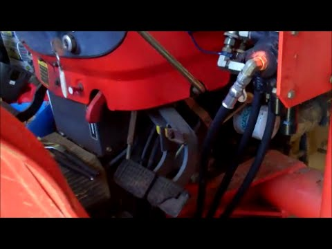 Replacing The Hydraulic Hoses On My Tractor  YouTube