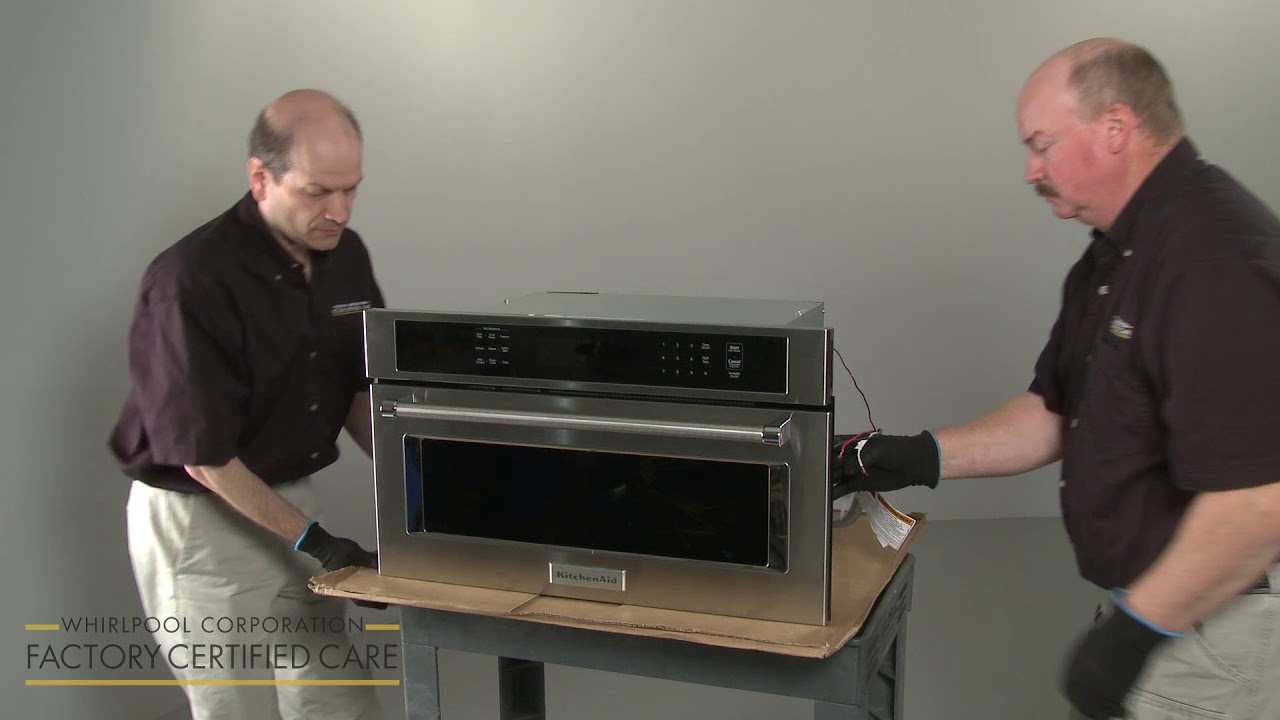 how to install a built in microwave